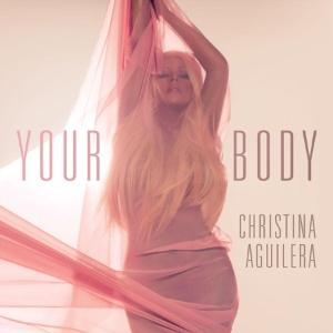 "Capa de ""Your Body"", novo single de Christina Aguilera"