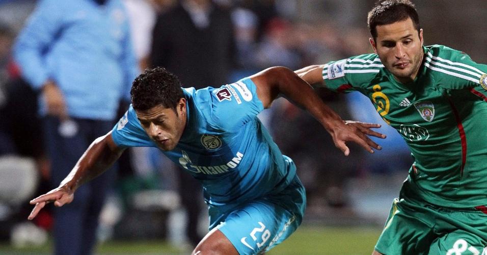 Hulk estreia pelo Zenit com derrota para o Terek pelo Campeonato Russo