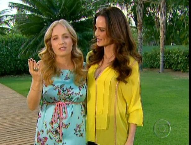 """Angélica se despede do """"Estrelas"""" e Ana Furtado estreia no programa (15/9/12)"""