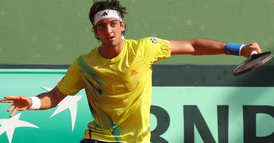 Thomaz Bellucci venceu o russo Alex Bogomolov e terminou o ano invicto pela Copa Davis