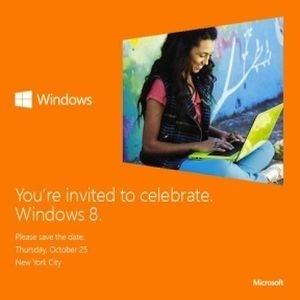 Convite enviado pela Microsoft aos jornalistas