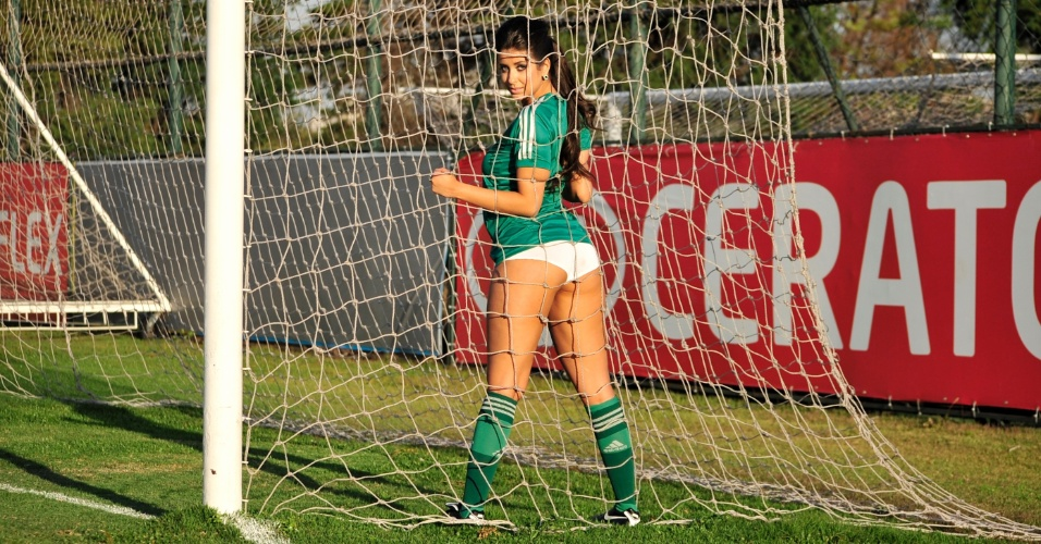 Raphaella Lobo, a bela do Palmeiras
