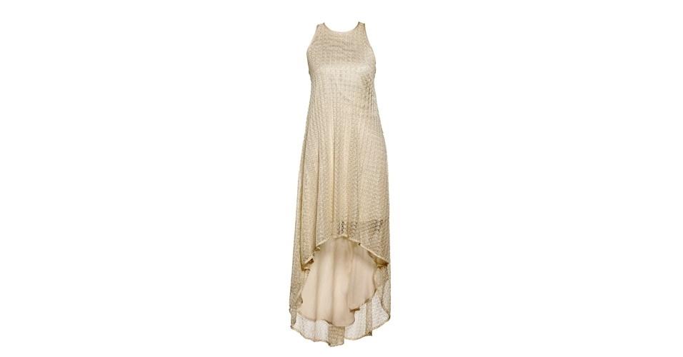 Vestido mullet com camada transparente; R$ 329, na Checklist (www.checklist.com.br). Preço pesquisado em setembro de 2012 e sujeito a alterações