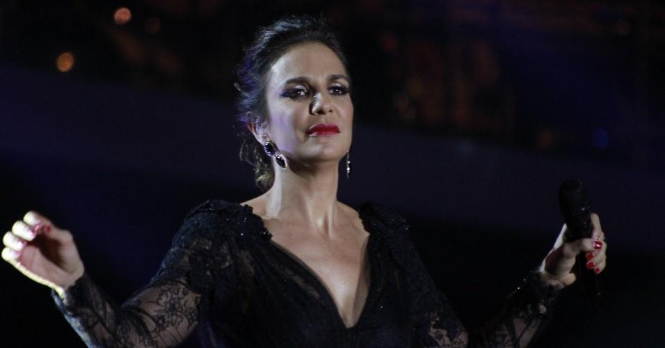 A cantora Ivete Sangalo apresenta a 19ª edição do Prêmio Multishow, no Rio de Janeiro (18/9/12)