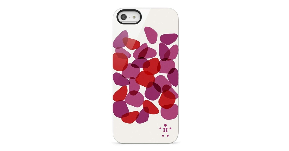 Ainda não sabemos o preço do iPhone 5 no Brasil, mas as capas acima devem chegar por preços que variam entre R$ 89 e R$ 179 em dezembro no país, segundo a fabricante Belkin. Com estampa ondulada, a Shield Petals tem cores que variam entre rosa e laranja