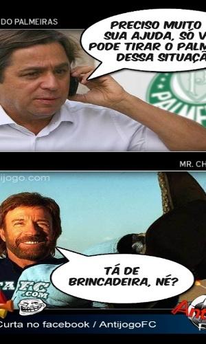 Corneta FC: Presidente do Palmeiras busca ajuda especializada para ajudar o time