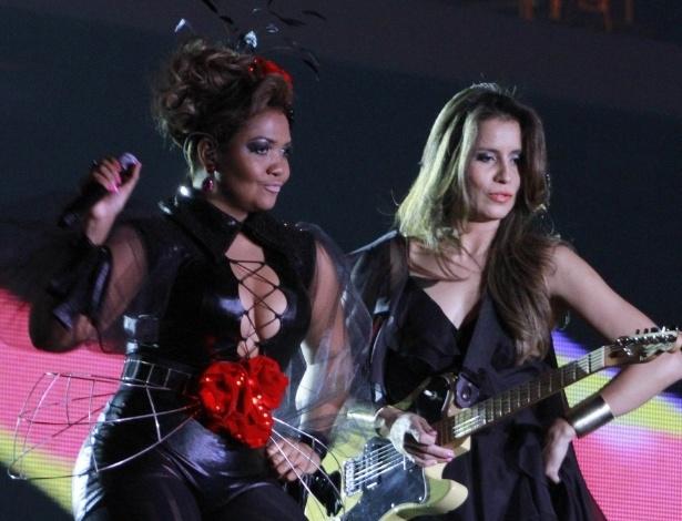 Gaby Amarantos se apresenta na 19ª edição do Prêmio Multishow, na Barra da Tijuca, Rio de Janeiro (18/9/12)