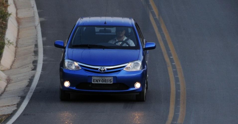 Toyota Etios hatch na versão XLS 1.5