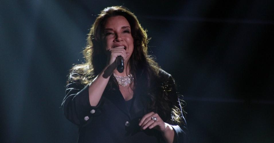 Ana Carolina se apresenta na 19ª edição do Prêmio Multishow, na Barra da Tijuca, Rio de Janeiro (18/9/12)