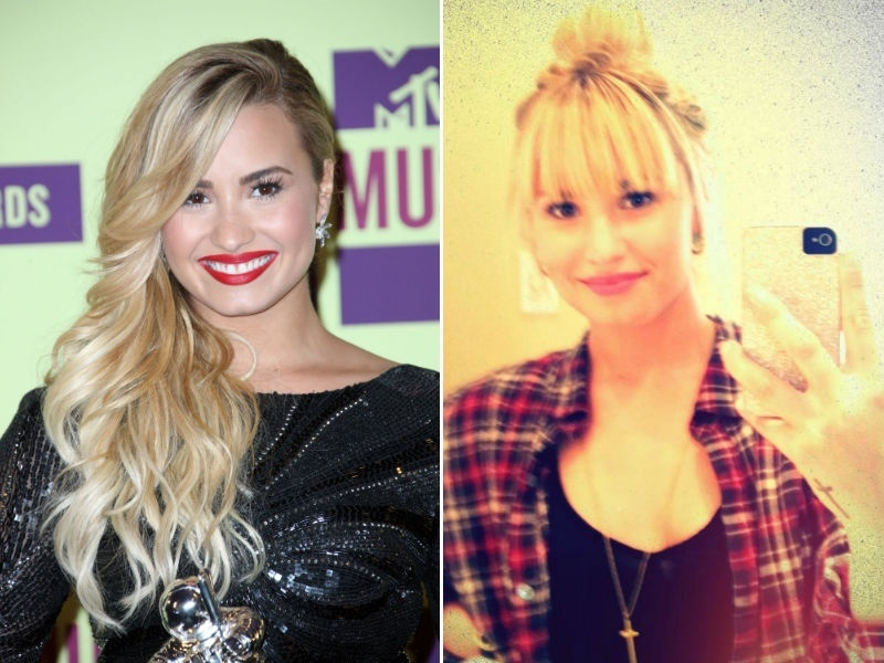 Demi Lovato corta a franja