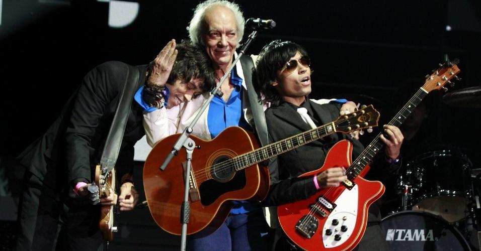 Erasmo Carlos se apresenta com a banda Filhos da Judith na 19ª edição do Prêmio Multishow, na HSBC Arena, na Barra da Tijuca, Rio de Janeiro (18/9/12)