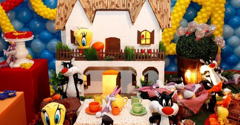 festa de criança, festa infantil, decoracao infantil, roberto justus, rafaella justus
