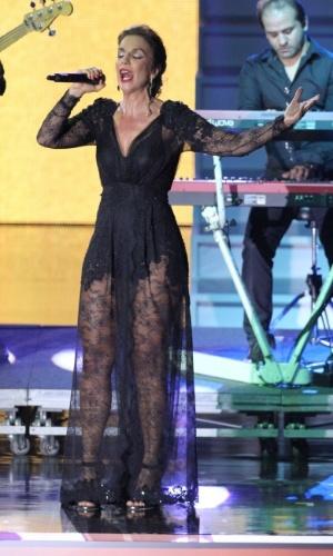 Ivete Sangalo se apresenta durante a festa do 19º Prêmio Multishow (18/9/12)