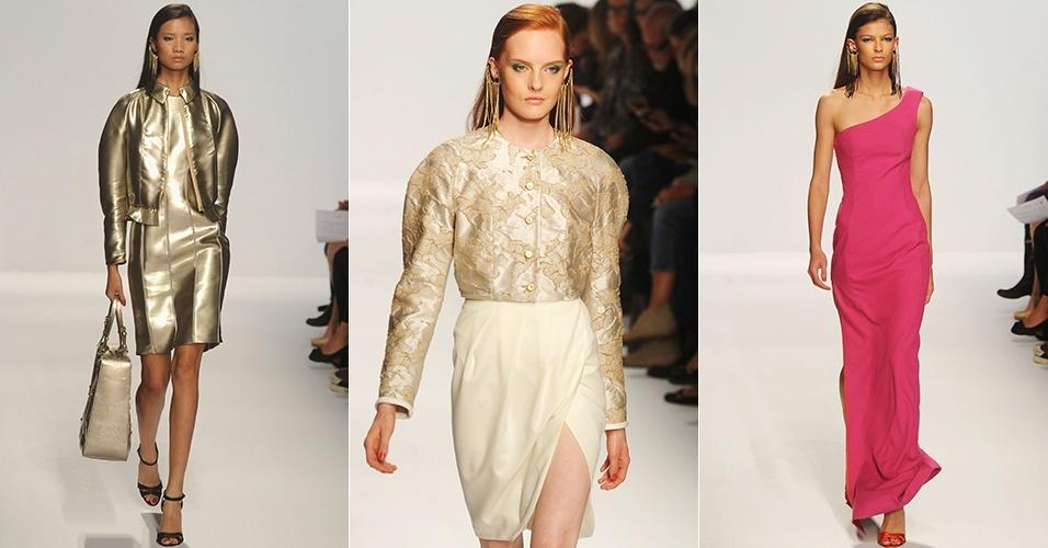 Looks de 1ª Classe Alviero para o Verão 2013 durante a semana de moda de Milão (19/09/2012)