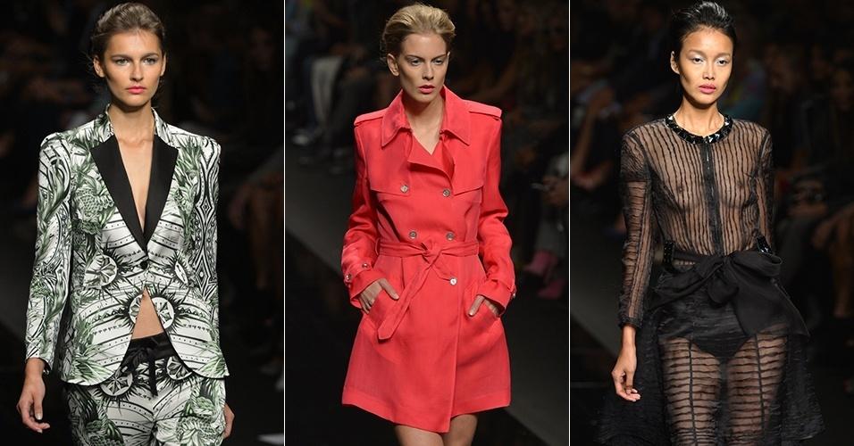 Looks de John Richmond para o Verão 2013 durante a semana de moda de Milão (19/09/2012)