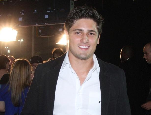 O ator Daniel Rocha no 19º Prêmio Multishow (18/9/12)