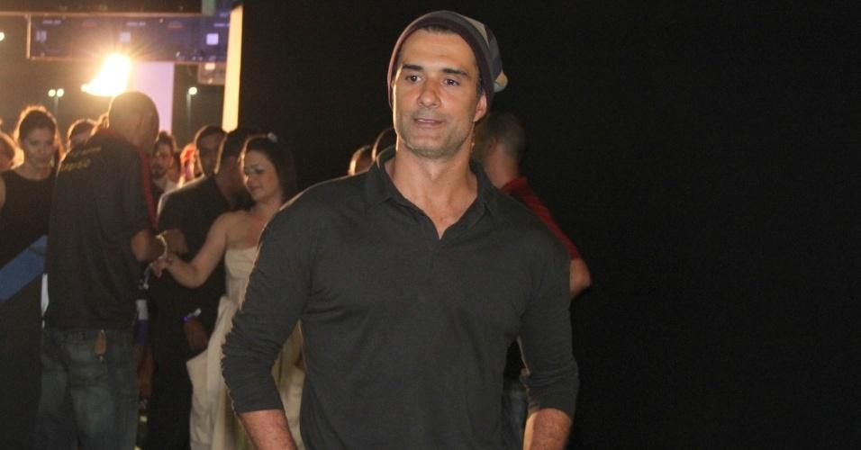 O ator Marcos Pasquim no 19º Prêmio Multishow (18/9/12)