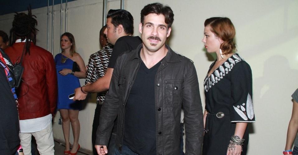 Raoni Carneiro durante a festa do 19º Prêmio Multishow (18/9/12)