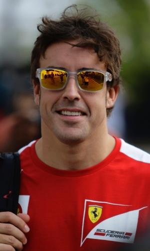 Fernando Alonso lidera o campeonato com 37 pontos de vantagem sobre Lewis Hamilton