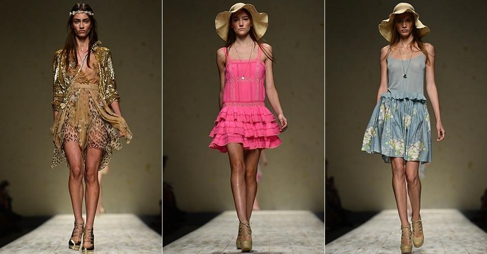 Looks de Blugirl para o Verão 2013 durante a semana de moda de Milão (20/09/2012)