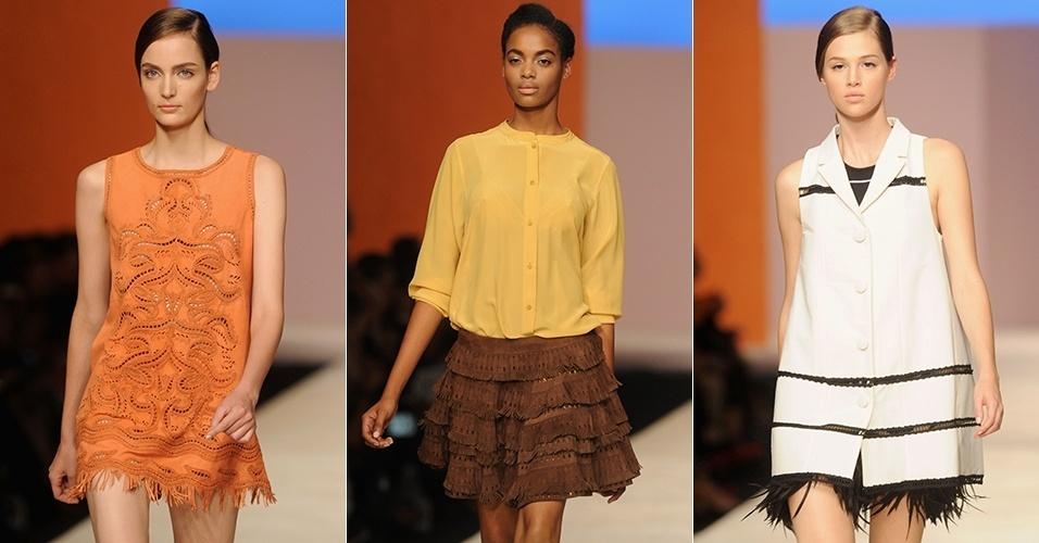 Looks de Ermanno Scervino para o Verão 2013 durante a semana de moda de Milão (20/09/2012)
