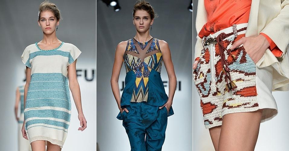 Looks de Jo No Fui para o Verão 2013 durante a semana de moda de Milão (20/09/2012)