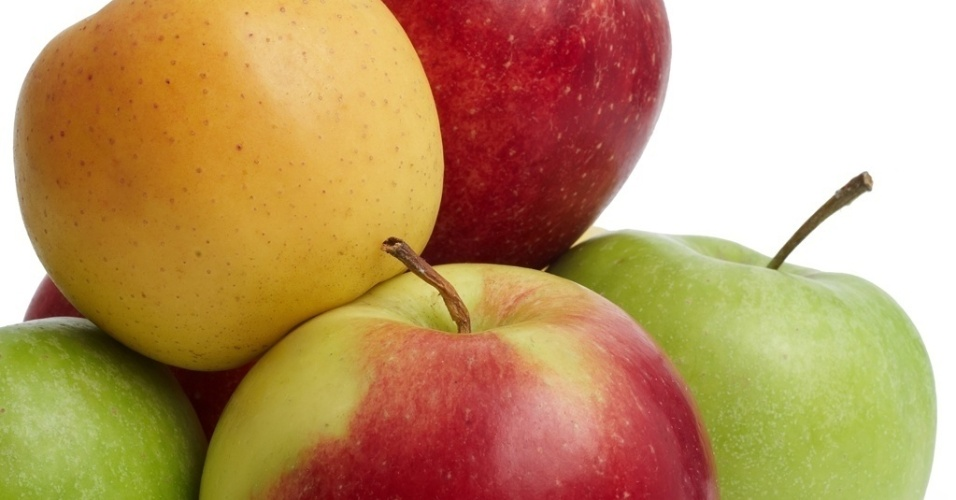 maçã, mação verde, mação vermelha