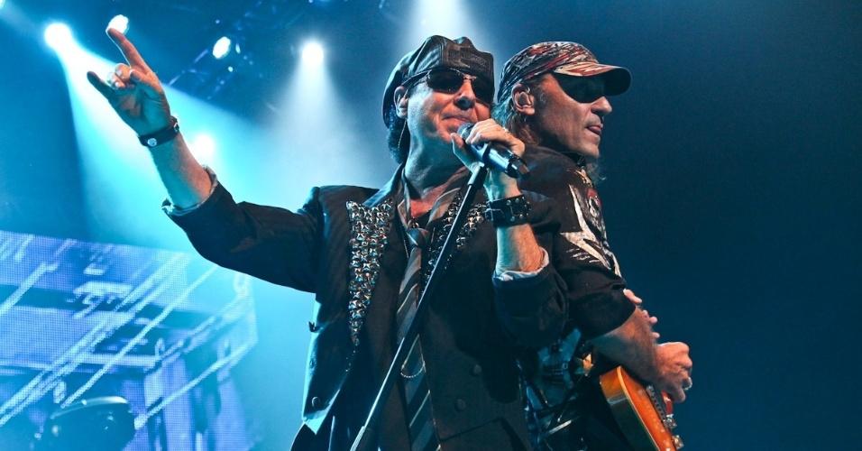 """O Scorpions já passou por Belo Horizonte no dia 11 com sua turnê """"Final Sting Tour 2012"""" antes de seu show em São Paulo (20/9/12)"""