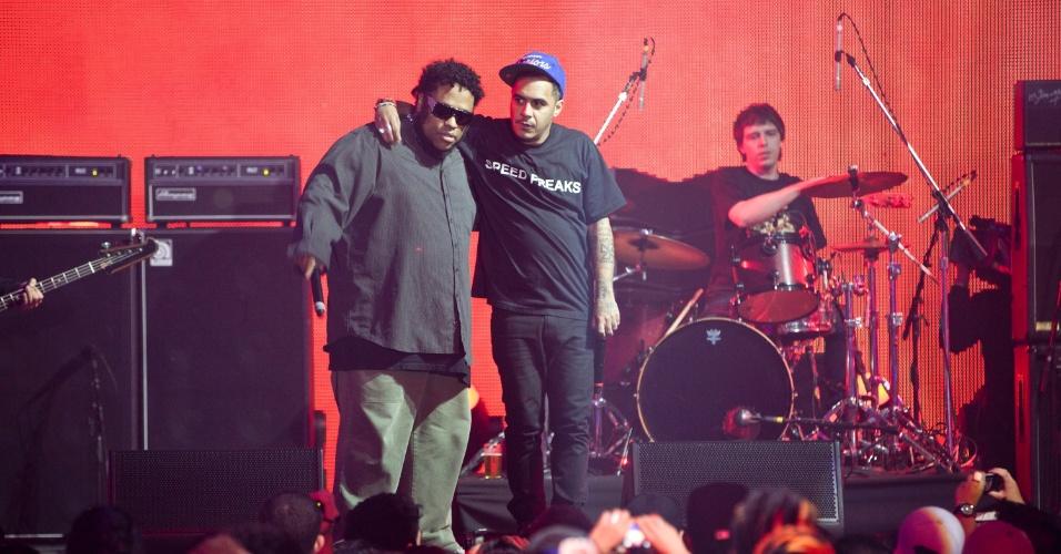 Planet Hemp volta a se reunir no palco do VMB 2012 para comemorar os 20 anos de fundação da banda (20/9/12)