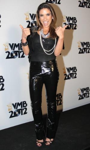A apresentadora Patrícia Abravanel no VMB 2012 (20/9/12)