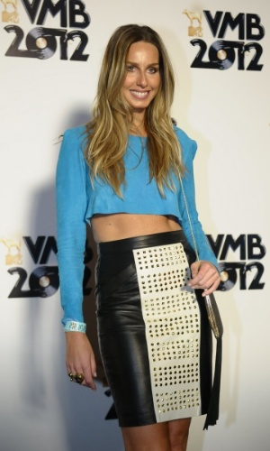 A modelo Mariana Weickert no VMB 2012 (20/9/12)