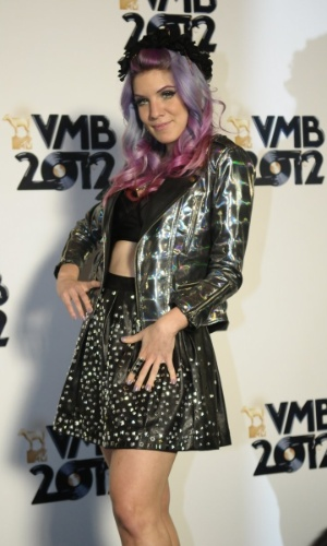 A VJ Marimoon no VMB 2012 (20/9/12)