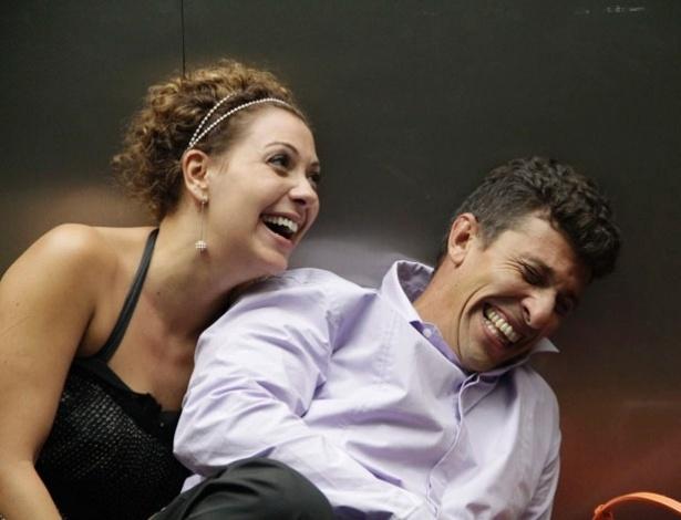 Os atores Fabíula Nascimento e Milhem Cortaz estrelam a comédia românica, que será exibida na Premiére Brasil do festival