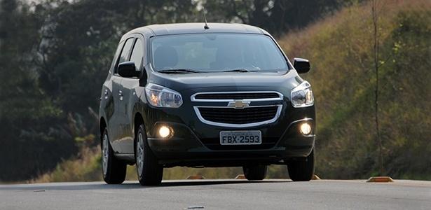 Chevrolet Spin tem missão dura: substituir Meriva e Zafira e manter o bom número de vendas das duas