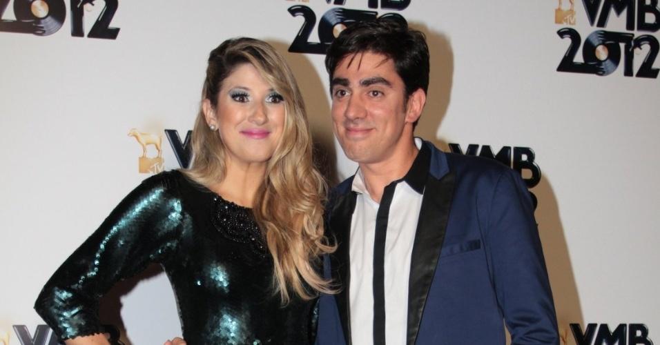 Dani Calabresa e Marcelo Adnet no VMB 2012 (20/9/12)