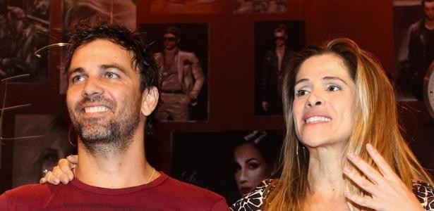 Ingrid Guimarães e Marcelo Faria estreiam a peça