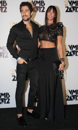 Marcos Mion com sua mulher Suzana no VMB 2012 (20/9/12)