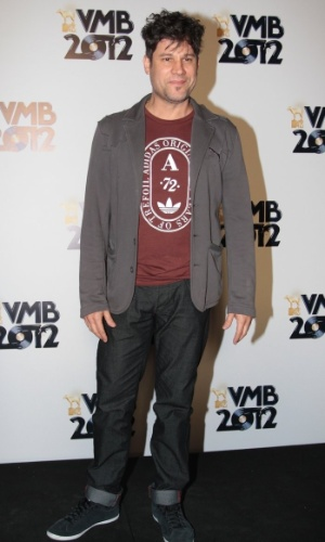 O apresentador Edgard Piccoli no VMB 2012 (20/9/12)