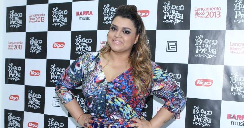 Preta Gil posa para fotos no show do projeto &#34;Eu Amo o Rio&#34; no Barra Music, Rio de Janeiro (20/9/12)
