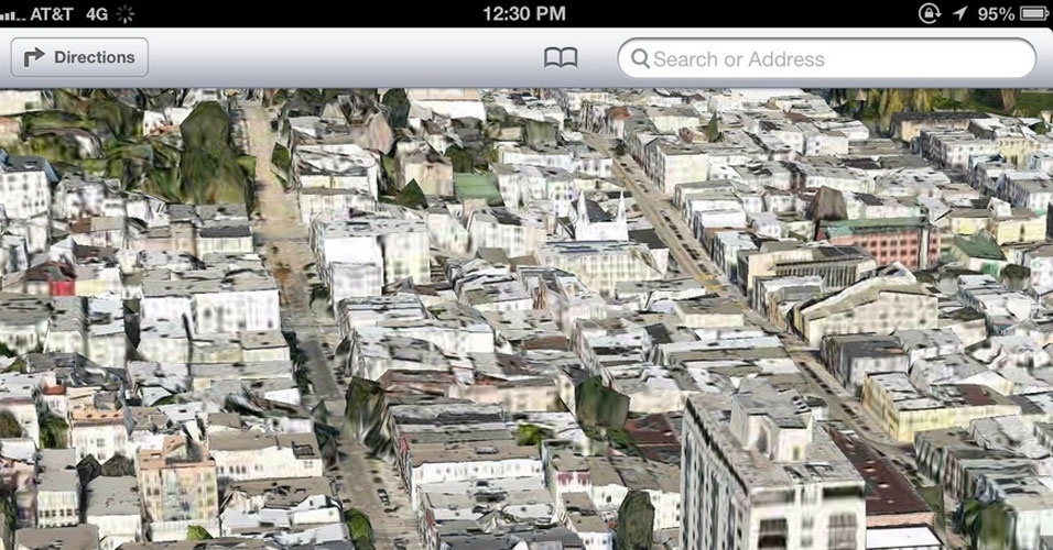 tumblr The Amazing iOS6 Maps