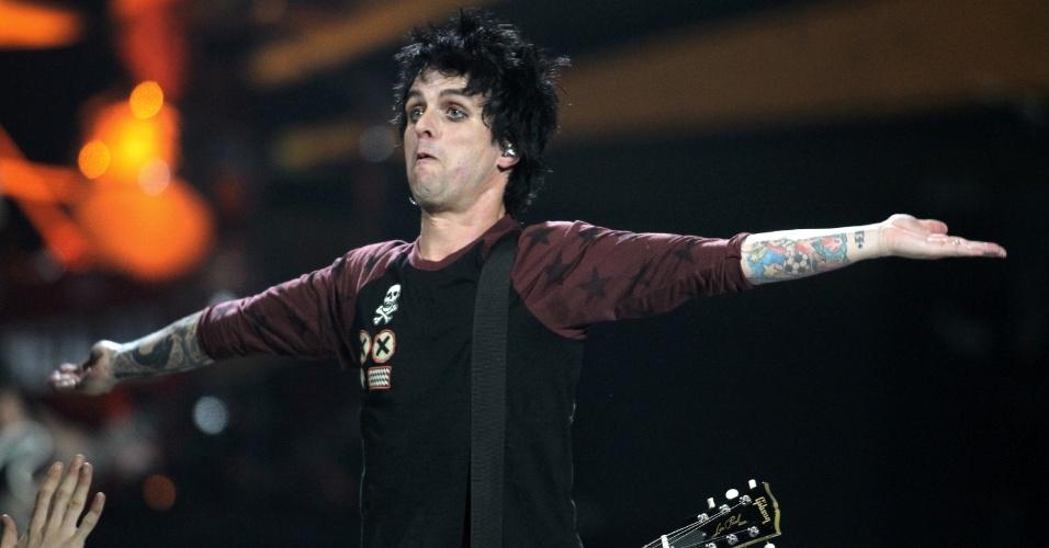 Green Day se apresenta no iHeartRadio Music Festival, no MGM Grand Garden Arena, em Las Vegas (21/9/12)