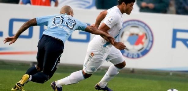 Hulk marcou o seu primeiro gol pelo Zenit na partida contra o Krylya Sovetov