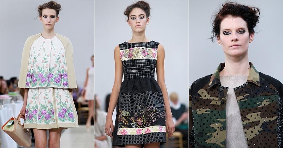Looks de Antonio Marras para o Verão 2013 durante a semana de moda de Milão (22/09/2012)