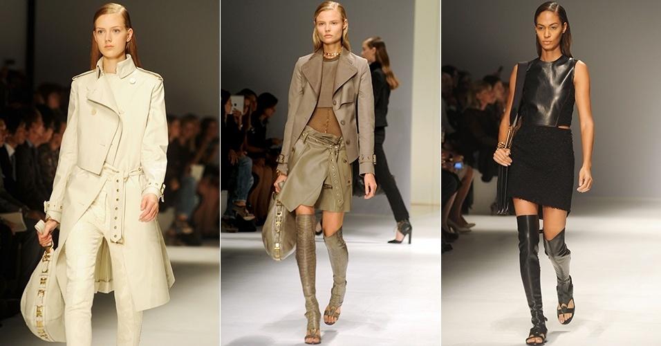 Looks de Salvatore Ferragamo para o Verão 2013 durante a semana de moda de Milão (23/09/2012)