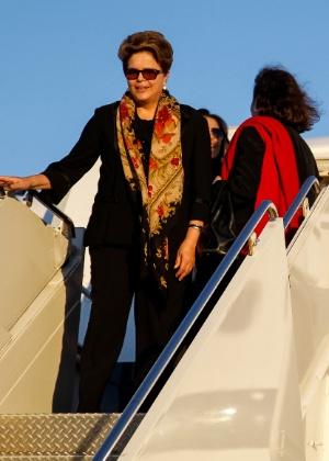 Dilma desembarca em Nova York no último domingo para discursar na Assembleia Geral da ONU - Foto: Ricardo Stuckert Filho/Presidência