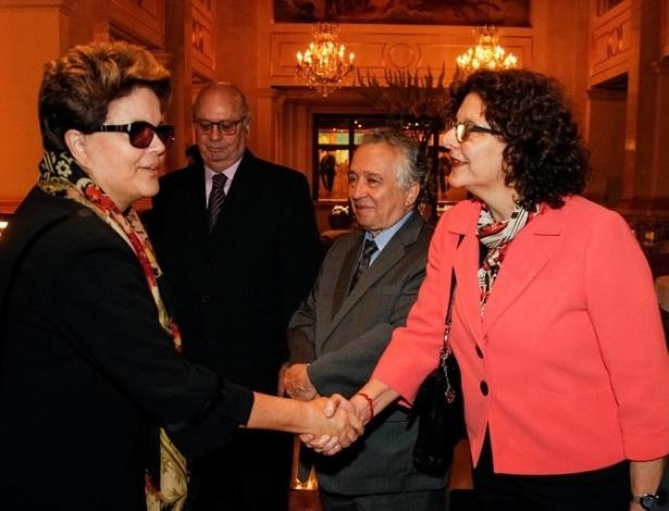 23.set.2012 - Presidente Dilma Rousseff desembarca em Nova York, onde discursará na Assembleia Geral da ONU