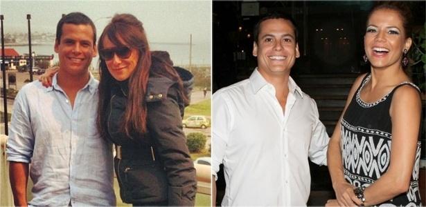 Leonardo Conrado, namorado de Nívea Stelmann, esteve no dia 7 de setembro com a atriz Karina Marthin (à esq.) em Punta Del Este, mas comemorou seu aniversário no Rio com Nívea (21/9/12)