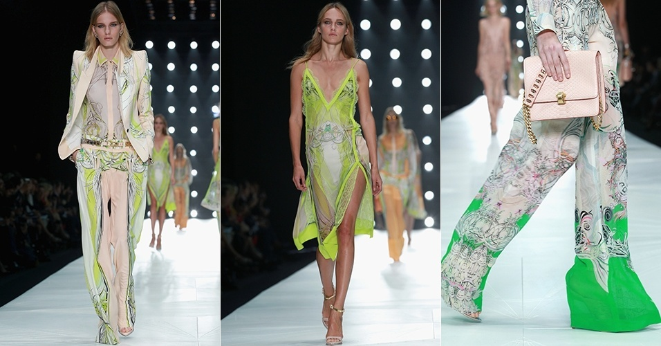 Looks de Roberto Cavali para o Verão 2013 durante a semana de moda de Milão (24/09/2012)