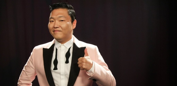 PSY, dono do hit Gangnam Style, um dos mais vistos da história do Youtube
