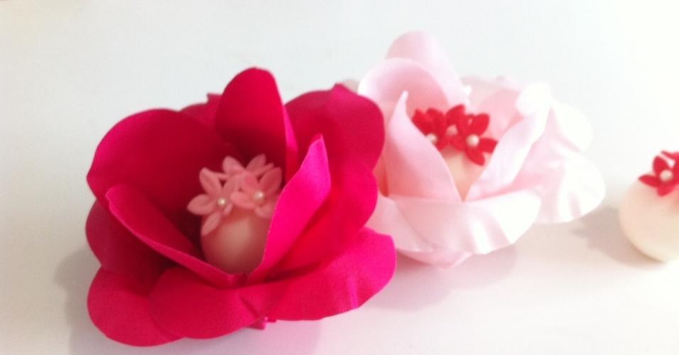 Imagem de forminha para doces da Festa Flor